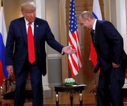 Putin and Trump meet for historic one-on-meet in Helsinki