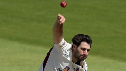 Brett Hutton helps put Northants in charge