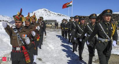 Indian, China troops exchanged fire twice last wk