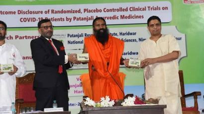 Don#39;t mislead people on Coronil: Maharashtra FDA Minister Rajendra Shingne warns Patanjali