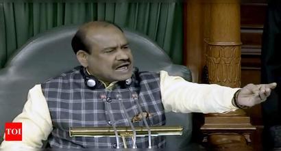 Lok Sabha Speaker seeks permanent solution to poster menace in House