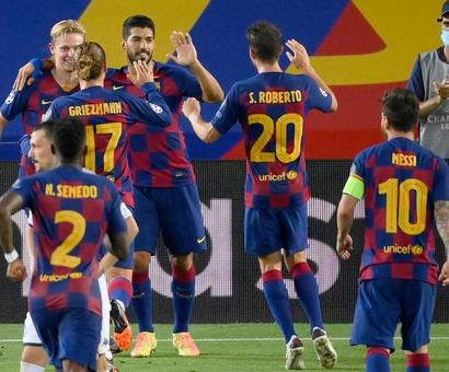CL: Messi Inspires Win Over Napoli But Barcelona Will Need More vs Bayern