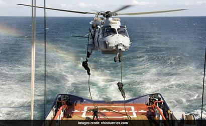 Dutch Military Helicopter Crashes In Caribbean Sea, Pilot Killed