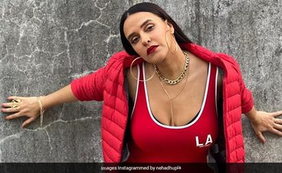 Neha Dhupia Out-Angads Husband Angad Bedi In Instagram Comments