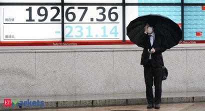 Global markets gain on economic hopes, Hong Kong remains a risk