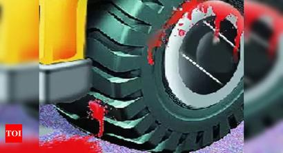 Bus crushes woman in Lucknow, driver flees