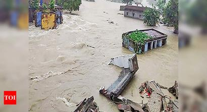 Two more districts hit by floods, 63L affected