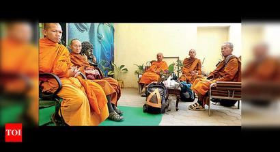 Jaisalmer: 13 Buddhist monks stopped from going to Pakistan