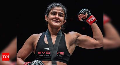 Ritu Phogat ready for second MMA bout, to face China's Wu Chiao Chen
