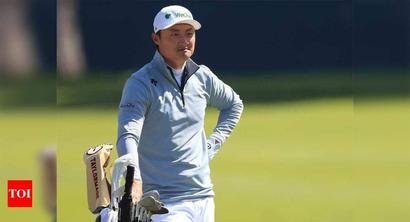 China's Haotong Li leads PGA Championship by two shots
