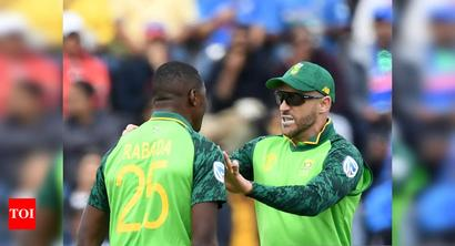 Du Plessis, Rabada recalled to South Africa squad for T20s vs Australia