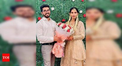 Over 200 relatives wish couple on their wedding