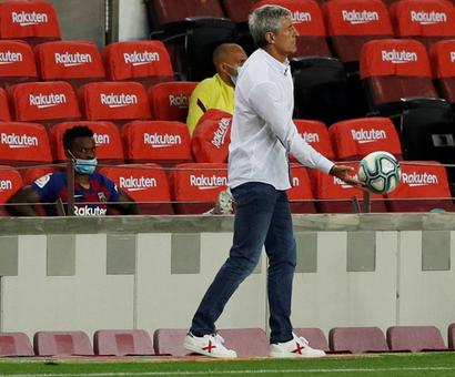 Rusty Barca still can win Champions League: coach Setien
