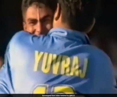 Yuvraj Singh Trolls Nasser Hussain On NatWest Final Anniversary