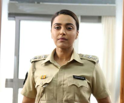 How did Swara Bhasker get into the character of a police officer for Flesh?