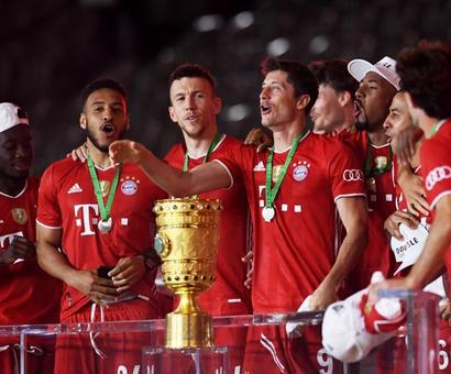 Bayern Munich Beat Leverkusen To Win German Cup And Complete Double