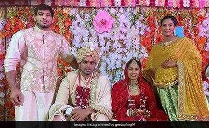Wrestler-Turned-Politician Babita Phogat Marries Vivek Suhag. See Pics