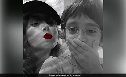 The Internet Loves Ira Khan's Goofy Pic With
