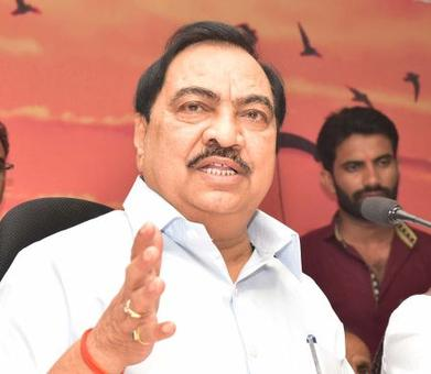 Ignoring my nomination a conspiracy by Maha BJP: Khadse
