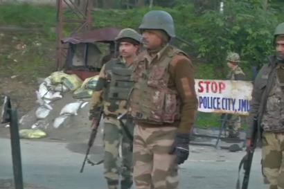 3 Militants Killed, Cop Injured in Encounter Near Toll Plaza in Nagrota; Jammu-Srinagar Highway Shut