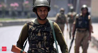 Many parts of Kashmir shut on Burhan Wani's death anniversary