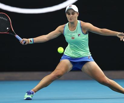 Barty says proud of indigenous heritage after Australia Day win