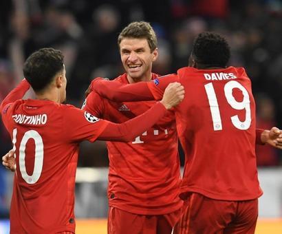Champions League: Atletico Seal Qualification, Bayern Beat Tottenham