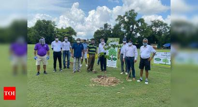 City clubs undertake sapling plantation project to replenish green cover at their premises