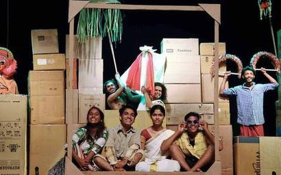 Plays at theatre fete feature burning issues of the time