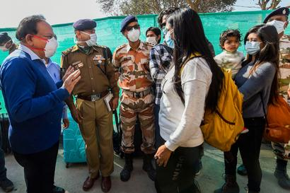 Coronavirus Scare: Another Batch of 100 People Leave ITBP Quarantine Facility