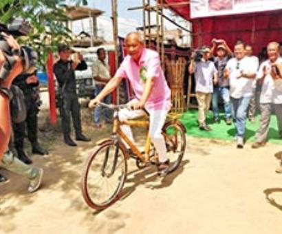 World Bamboo Day celebrated at Imphal