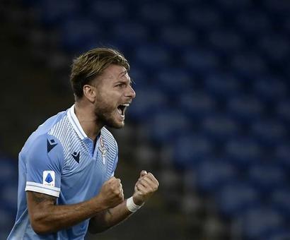 Lazio Forward Ciro Immobile Set For Coronation As Europe's Goal King