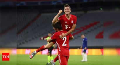 Champions League: Bayern crush Chelsea to move into last eight