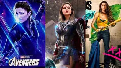 Parineeti Chopra turns Black Widow, female Thor in fan-made posters. See pics
