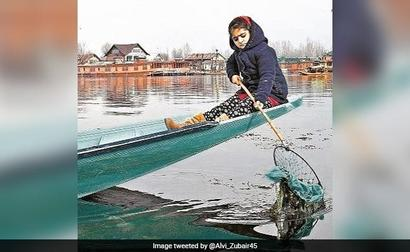 Story Of 7-Year-Old Cleaning Dal Lake, Now Part Of Hyderabad School Books