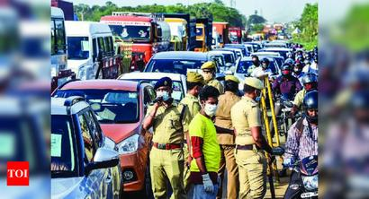 Chennai: Tedious e-pass norms, lack of public transport make it a crawl to work