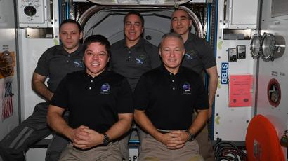 SpaceX Crew Dragon Departs ISS for Earth