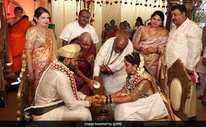 What Social Distancing? HD Kumaraswamy's Son's Wedding Draws Scrutiny