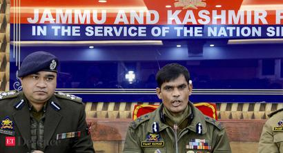 Senior J&K Police officer arrested along with 2 terrorists whom he was ferrying in Kashmir Valley