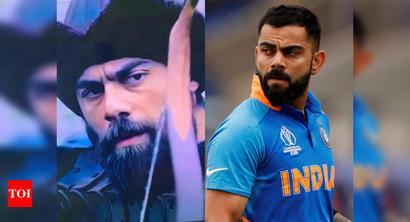 Virat Kohli's doppelganger leaves Mohammad Amir bemused