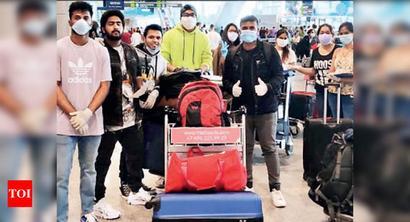 130 Karnataka students back from Russia