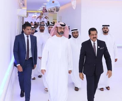 Ajman Sheikh Ammar Bin Humaid Al Nuaimi Inaugurates Thumbay University Hospital Rediff Realtime News