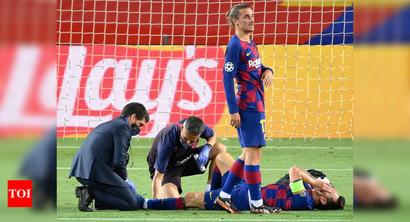 Lionel Messi set to recover from knock ahead of Champions League quarterfinals