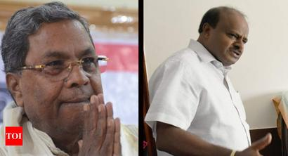 Karnataka ex-CMs charged with sedition for protesting I-T raids