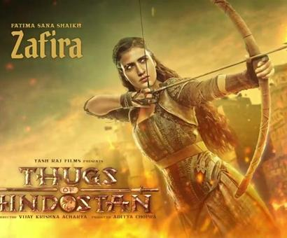 Thugs of Hindostan: Meet Zafira - The fiery and stunning daredevil!