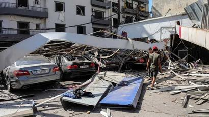 US officials say no sign Beirut blast was attack