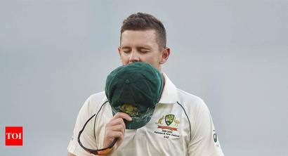Josh Hazlewood ruled out of Perth Test with hamstring strain