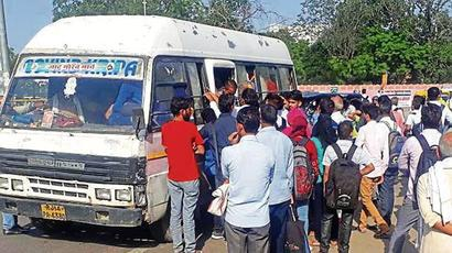 Passengers left stranded as strike hits bus services in Rajasthan