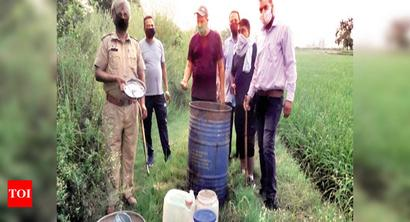Ludhiana bizman linked to 111 hooch deaths held