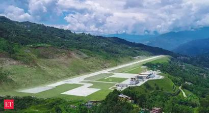 Pakyong in Sikkim another risky airport with tabletop runway
